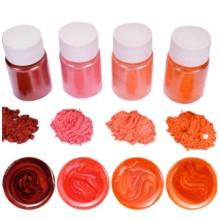 """Blizgių pigmentų rinkinys 10g x 4 vnt. - """"Rudens atspalviai"""""""