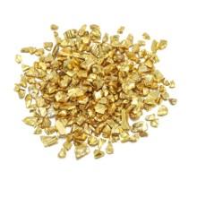 Dekoratyviniai kristaliukai - Auksas 20g