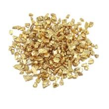 Dekoratyviniai kristaliukai - Auksinė šviesi 20g