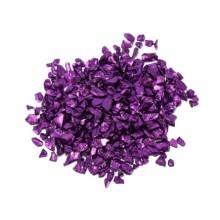 Dekoratyviniai kristaliukai - Violetinė ryški 20g