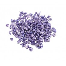 Dekoratyviniai kristaliukai - Violetinė šviesiai 20g