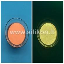 Fosforo milteliai -  Oranžinė Nr. 11 (Tamsoje švyti aukso spalva)  50g
