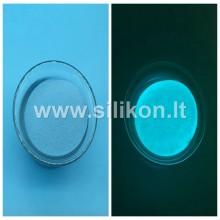 Fosforo milteliai - Šviesiai mėlyna Nr. 3 (Tamsoje švyti ryškiai mėlyna spalva)  50g