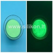 Fosforo milteliai - Žalia Nr. 12 (Tamsoje švyti žalia spalva) 50g