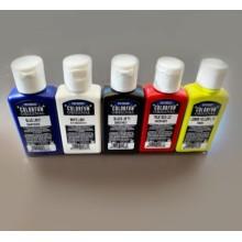 """Skystų pigmentų rinkinys - """"Colorfun"""" 25ml x 5vnt."""