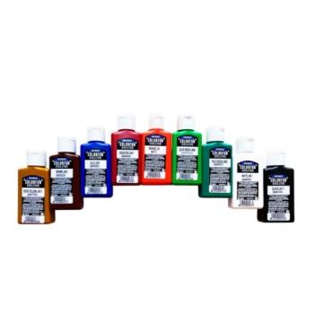 Skystų pigmentų rinkinys