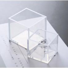 Silikoninė forma - Kvadratas 2.5-3.5-4-5-6.5cm Nr.55