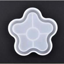 """Silikoninė forma - Padėkliukas """"Žvaigždutė"""" 10.5x10x1.8"""