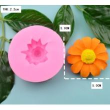 Silikoninė  forma - Gėlės žiedas Nr.127