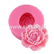 Silikoninė muilo forma - Gėlės žiedas Nr.6
