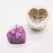 Silikoninė muilo forma - Širdelė Nr.4