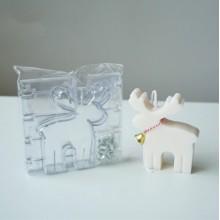 """Plastikinė forma - """"Kalėdinis elnias"""" Nr.7"""